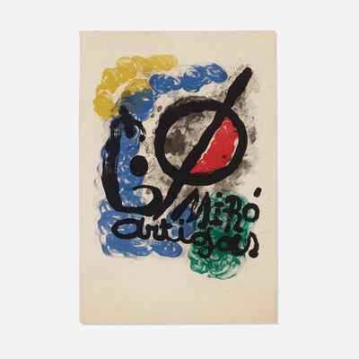 Joan Miró, 'Affiche pour l'Exposition Miro-Artigas', 1963