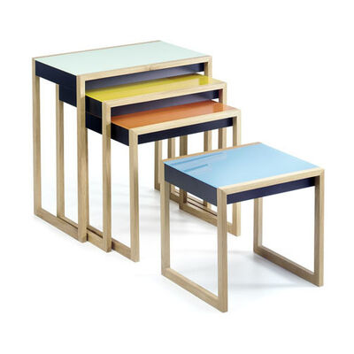Josef Albers, 'Nesting Tables', Current production based on 1926/7 design