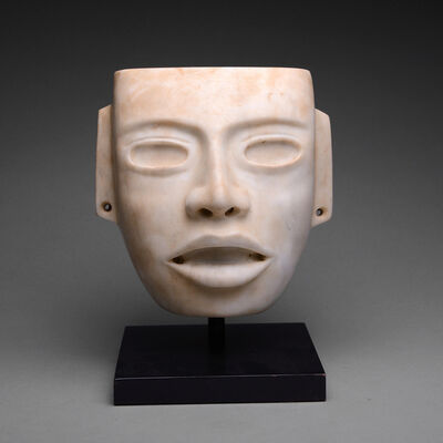 Teotihuacan, 'Teotihuacan White Stone Mask', 250 AD to 650 AD