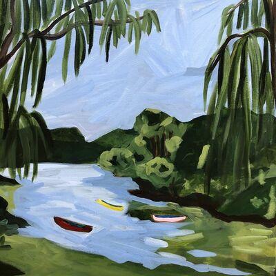 Julie Bowers Murphy, 'Central Park Lake', 2019