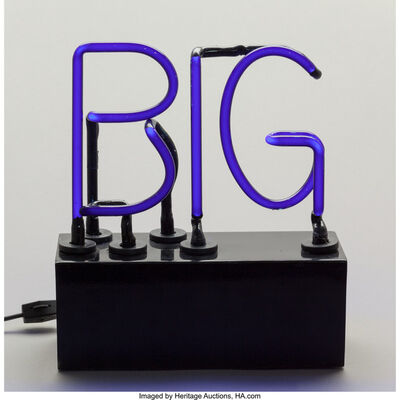 Richard Jackson, 'Black Big Pig'