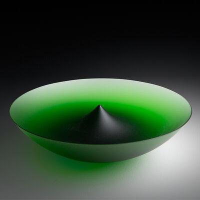 Frantisek Vizner, 'Green Bowl XVI 143-16', 1998