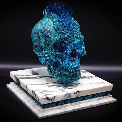 Jonas Leriche, 'Blue Vanity Skull', 2019