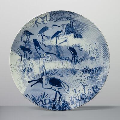 Roger Law, 'Jesus Bird Plate', 2017