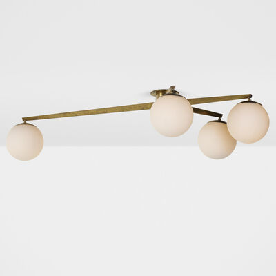 In the manner of Angelo Lelii, 'Ceiling light', c. 1960