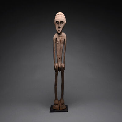 Papua New Guinea Tribal Art, 'Sepik River Standing Male Figure', 20th century A.D.
