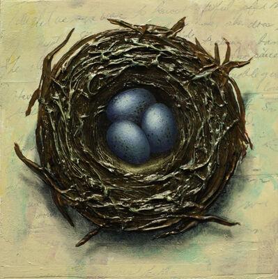Thane Gorek, 'Nest with Three Eggs', 2019
