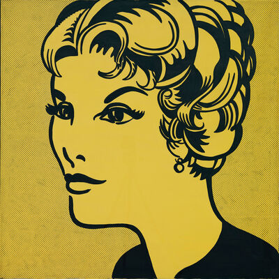 Roy Lichtenstein, 'Head: Yellow and Black', 1962
