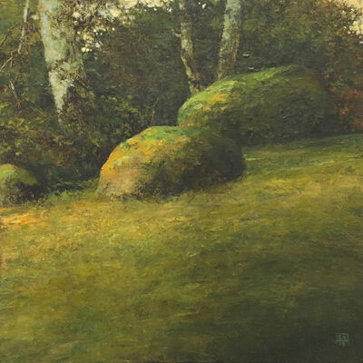 Shawn Krueger, 'Field and Stone Study 6', 2019