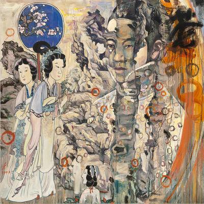 Hung Liu, 'Garden Scene', 2003