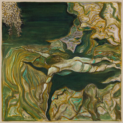 Billy Childish, 'yuba river', 2019