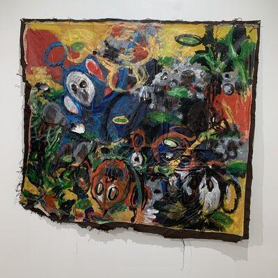 Sejiro Avoseh, 'Floating in Lilies I', 2020