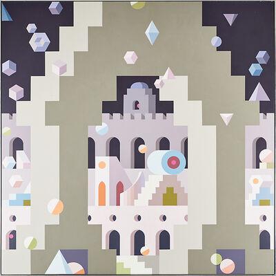 Edna Andrade, 'Fortress', 1992