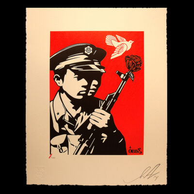 Shepard Fairey, 'Chinese Soldiers', 2014