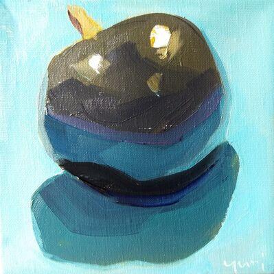 Yuri Tayshete, 'A Plum on a Light Blue Paper', 2020