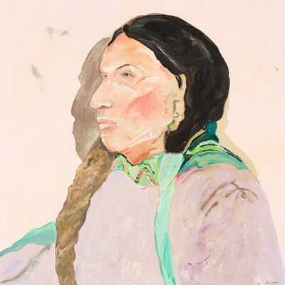 Ira Yeager, 'Native American Portrait', 20th/21st Century