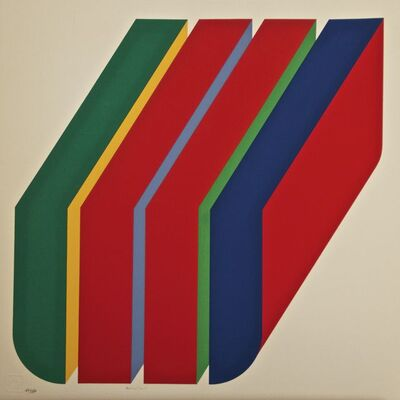 Rodolfo Aricò, 'Composition', 1972