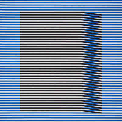 Carlos Cruz-Diez, 'Induction du Jaune Tepuy 2', 2018