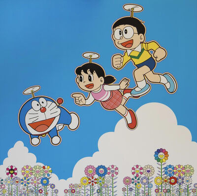 Takashi Murakami, 'A Blue Sky! Like We Could Go On Forever!', 2020
