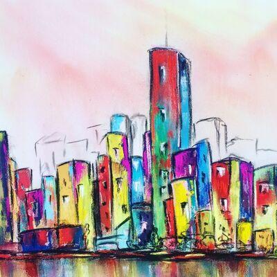 Marta Oppikofer, 'Hello City 4', 2018