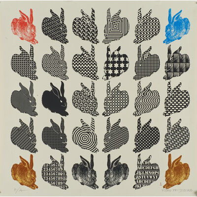 Pedro Friedeberg, 'Three silksreens in colors'