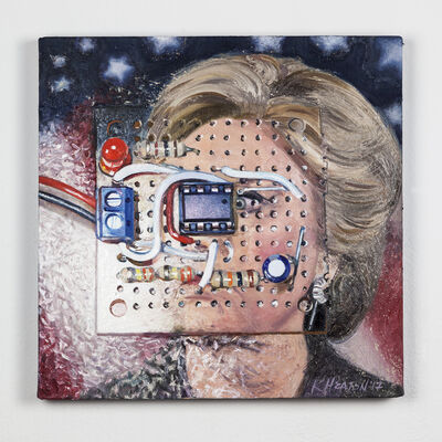 Kelly Heaton, 'Hilary Clinton', 2017