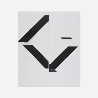 Wade Guyton, 'X Poster (Untitled, 2007, WG1208)', 2017
