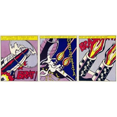 Roy Lichtenstein, 'As I Opened Fire', 1966