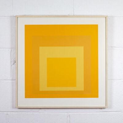 Josef Albers, 'Yellow Spectrum', 1967