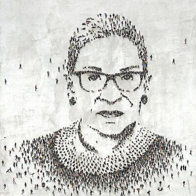 Craig Alan, 'RBG (Ruth Bader Ginsburg) - Limited Edition', 2021