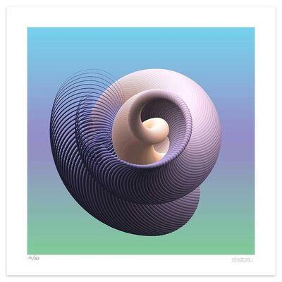 Dadodu, 'Spiral Curves', 2019