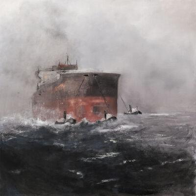 Jef Van Campen, 'Big ship coming in', ca. 2017