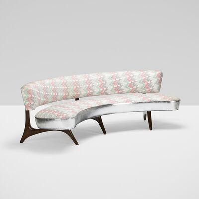 Vladimir Kagan, 'Floating Seat and Back Sofa', c. 1952