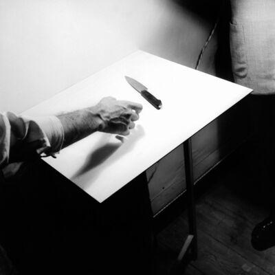 Fernando Lemos, 'Hand and Knife.', 1949-1952