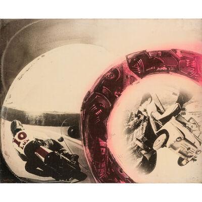 Gianni Bertini, 'La Curva parabolica', 1975
