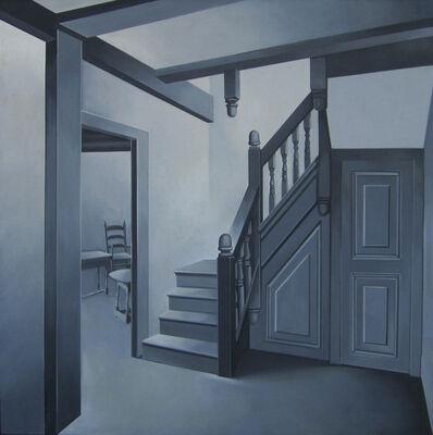 Lowell Nesbitt, 'Marshfield House, Massachusetts (Isaac Winslow House, Marshfield)', 1966