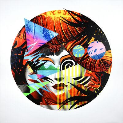 Peter D. Gerakaris, 'Piton Opera Mask Remix', 2017