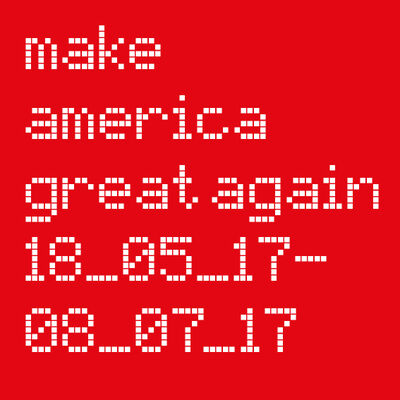Make America Great Again, installation view