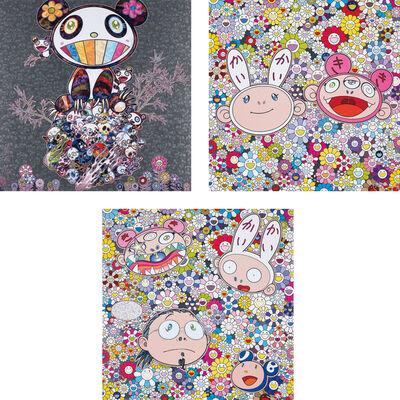 Takashi Murakami, 'Panda & Panda Cubs; Kaikai & Kiki: Dreaming of Shangri-la; and The Creative Mind', 2015