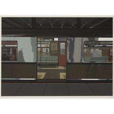 Richard Estes, 'Subway, from the Urban Landscapes III portfolio', 1981