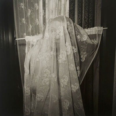Rosalind Solomon, 'Self-portrait with Curtain, Rotterdam, Netherlands', 1987