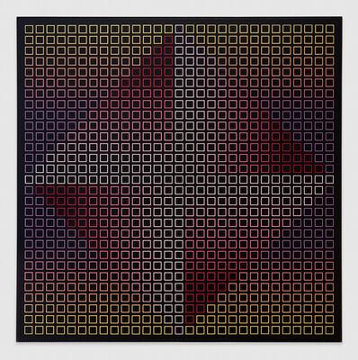 Julian Stanczak, 'Low Asteroid M', 1983