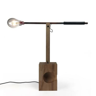 Christien Meindertsma, 'BULB BULLÉE – C TABLE LAMP PEAR', 2020