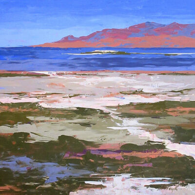 Hadley Rampton, 'From the Shore, Great Salt Lake', 2019