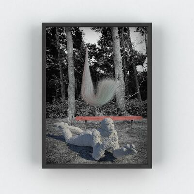 Tim Berresheim, ' Lake X 2006/2019 (Revisited)', 2019