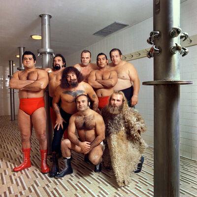 Neal Slavin, 'Capitol Wrestling', 1974