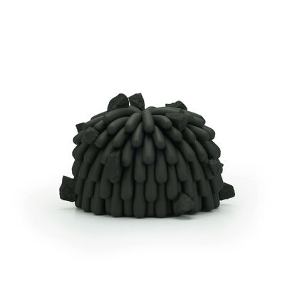 Linda Lopez, 'Black Dust Furry with Rocks', 2019