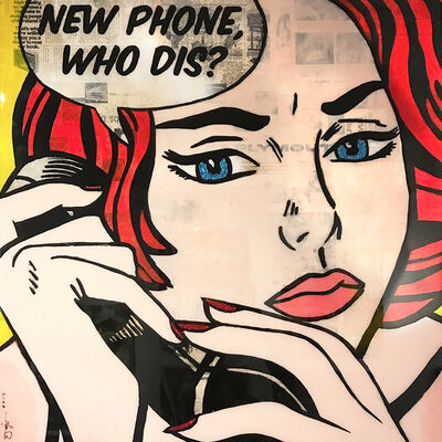 Jojo anavim, 'New Phone, Who Dis?', 2018