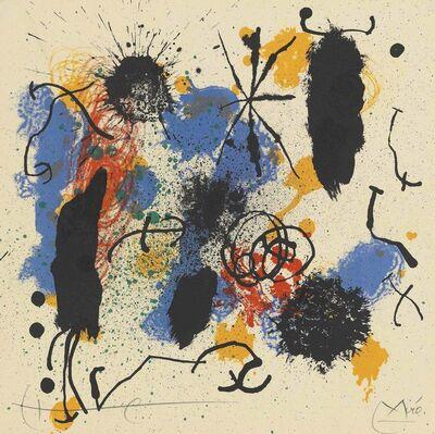 Joan Miró, 'Je travaille comme un jardinier', 1964