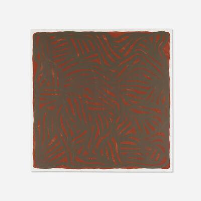 Sol LeWitt, 'Untitled (Brown)', 2004